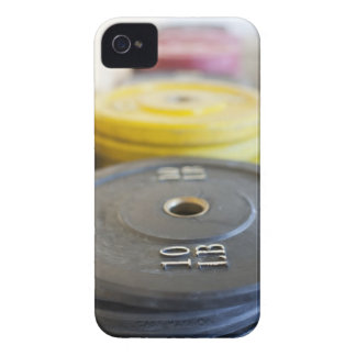 Weights at Gym, Newport Beach, Orange County, Case-Mate iPhone 4 Cases