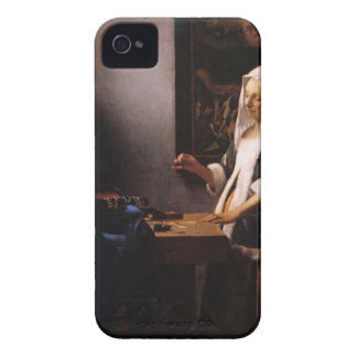 Weights by Johannes Vermeer Case-Mate iPhone 4 Cases