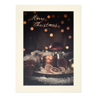 Weihnachtskarte Merry Christmas Personalisierte Ankündigungen