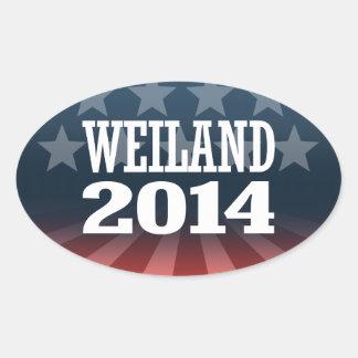 WEILAND 2014 STICKER
