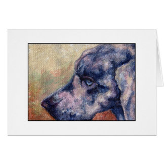 Weim ACEO Card