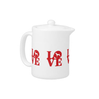 WEIM LOVE  SMALL TEAPOT BY BLU WEIM DESIGNS