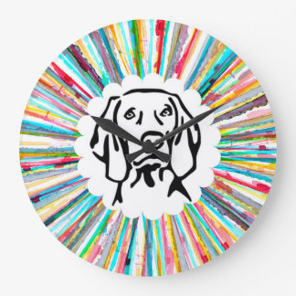 Weim Time Large Clock