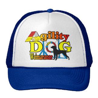 Weimaraner Agility Shirts Gifts Cap