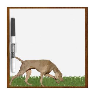 Weimaraner Art Dry Erase Board