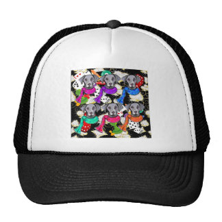 WEIMARANER BLING! TRUCKER HAT
