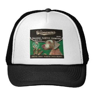 Weimaraner Brand – Organic Coffee Company Trucker Hat