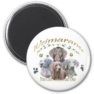 Weimaraner Can t Have Just One Magnets