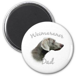 Weimaraner Dad 2 Refrigerator Magnet