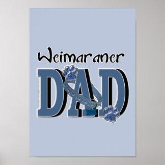 Weimaraner DAD Poster