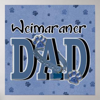Weimaraner DAD Print