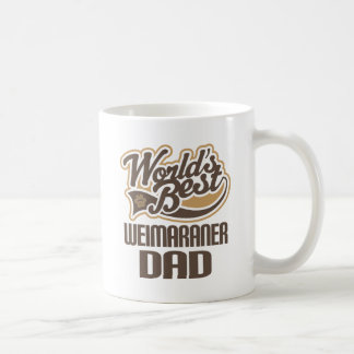 Weimaraner Dad (Worlds Best) Coffee Mug