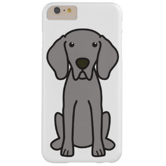 Weimaraner Dog Cartoon Barely There iPhone 6 Plus Case