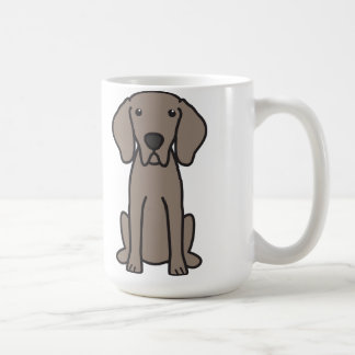 Weimaraner Dog Cartoon Coffee Mug