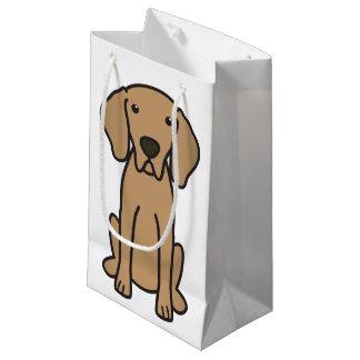 Weimaraner Dog Cartoon Small Gift Bag