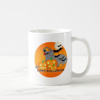 Weimaraner Dog Halloween Mugs