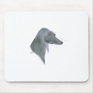 Weimaraner dog, tony fernandes mouse mat