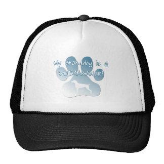 Weimaraner Granddog Trucker Hat