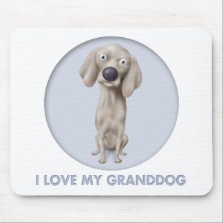 Weimaraner Granddog Mouse Pads
