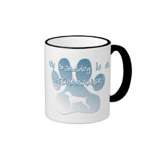 Weimaraner Granddog Mugs