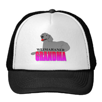 Weimaraner Grandma Hats