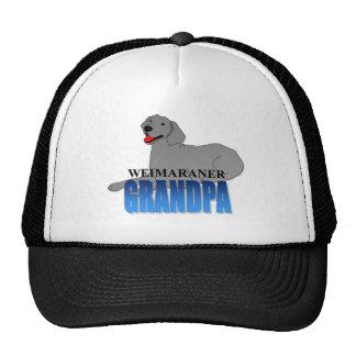 Weimaraner Grandpa Trucker Hat
