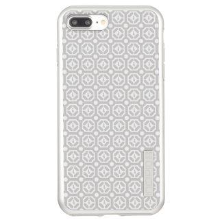 WEIMARANER HEXAGON TAUPE IPHONE 7 PLUS SILVER INCIPIO DualPro SHINE iPhone 7 PLUS CASE