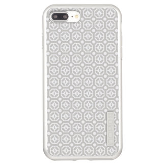 WEIMARANER HEXAGON TAUPE IPHONE 7 PLUS SILVER INCIPIO DualPro SHINE iPhone 8 PLUS/7 PLUS CASE