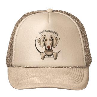 Weimaraner IAAM Mesh Hats