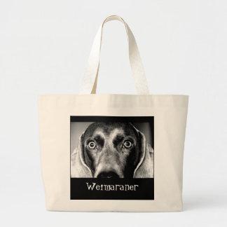 Weimaraner Large Tote Bag