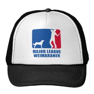 Weimaraner Long Coated Cap