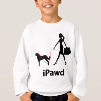 Weimaraner Long Coated Sweatshirt