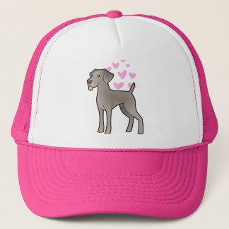 Weimaraner Love Trucker Hat