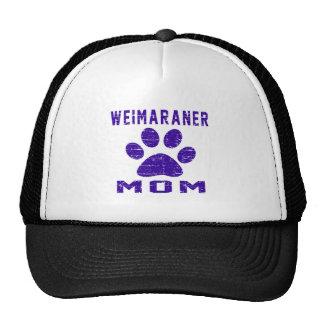 Weimaraner Mom Gifts Designs Hat