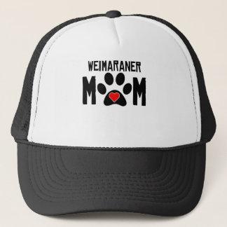 Weimaraner Mom Trucker Hat