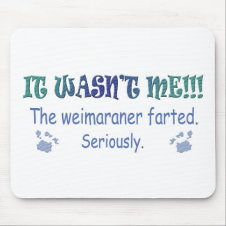Weimaraner Mouse Mat