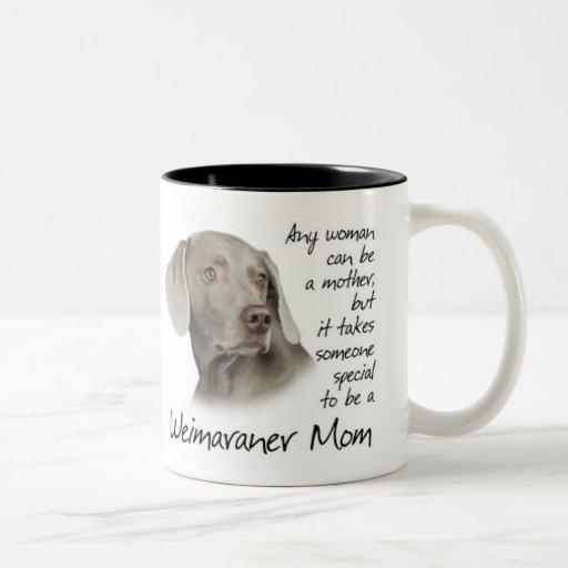 Image of Weimaraner Mum Mug