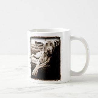 Weimaraner Nation Ballou s Chair Coffee Mug