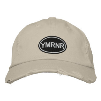 Weimaraner Nation Embroidered YMRNR Embroidered Baseball Caps