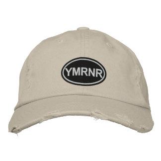 Weimaraner Nation Embroidered YMRNR Embroidered Baseball Caps