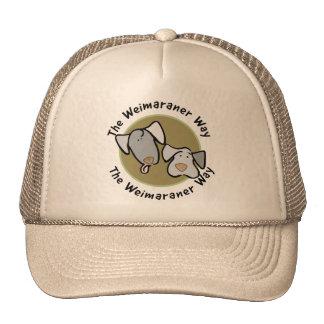 Weimaraner Nation : The Weimaraner Way Trucker Hat