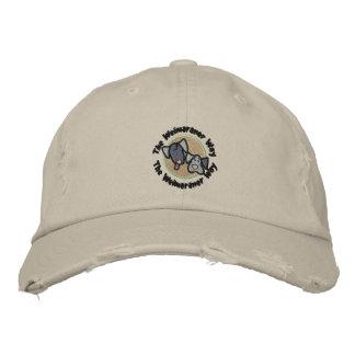Weimaraner Nation The Weimaraner Way Embroidered Hats