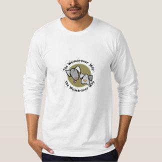 Weimaraner Nation : The Weimaraner Way T-Shirt
