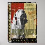 Weimaraner nation : Vintage Weimaraner! Print