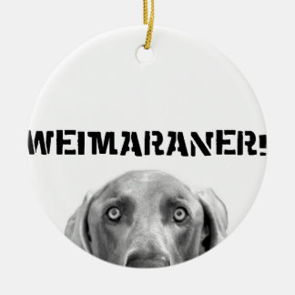 Weimaraner Nation : Weimaraner In A Box! Christmas Ornament