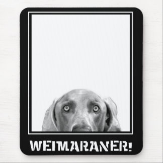 Weimaraner Nation : Weimaraner In A Box! Mouse Mat