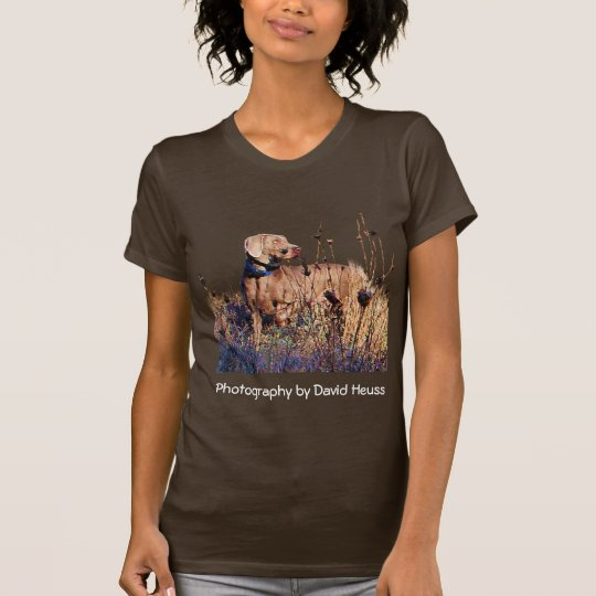 Weimaraner On Retrieve T-Shirt