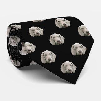 Weimaraner Pattern Tie