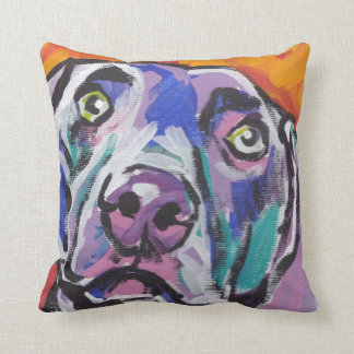 Weimaraner Pop Art Pillow