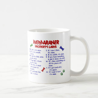 WEIMARANER Property Laws 2 Coffee Mug